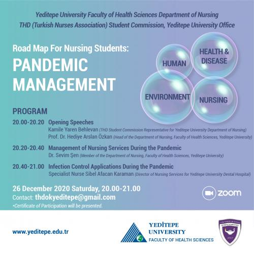Road Map For Nursing Students: Pandemic Management
