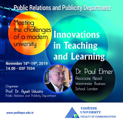 Meeting the Challenges of A Modern University - Innovations in Teaching and Learning