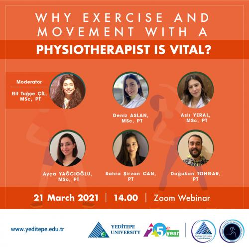 Why Exercise and Movement with a Physiotherapist is Vital?