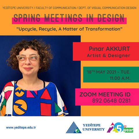 Spring Meetings in Design 2021   Pınar Akkurt