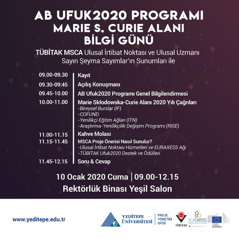 AB Ufuk2020 Programı Marie S. Curie Alanı Bilgi Günü
