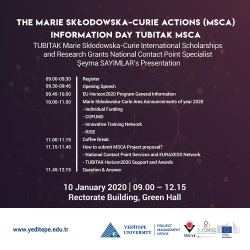 The Marie Skłodowska-Curie Actions (MSCA) Information Day