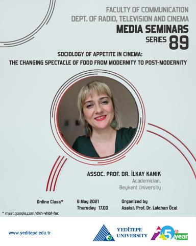 Department of Radio, Television and Cinema Media Seminars Series 89
