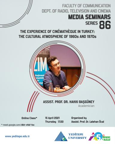 Department of Radio, Television and Cinema Media Seminars Series 86