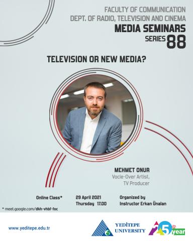 Department of Radio, Television and Cinema Media Seminars Series 88