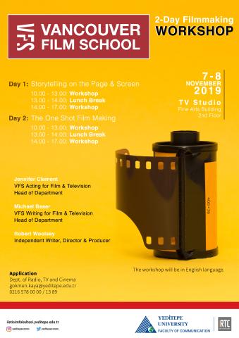 Vancouver Film School | Filmmaking Workshop
