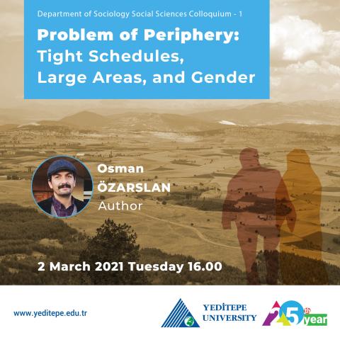 Social Sciences Colloquium - 1 | Problem of Periphery