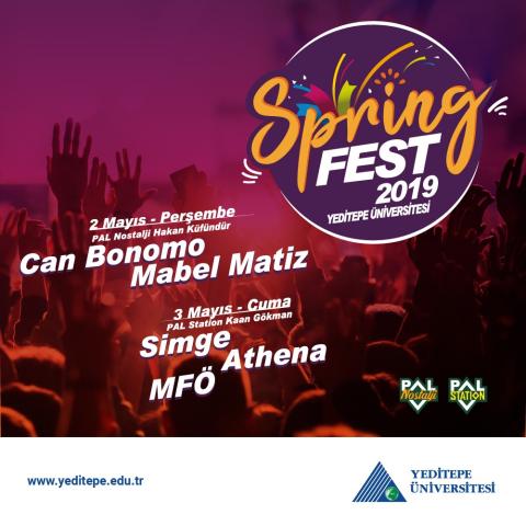 Springfest 2019 Yaklaşıyor!