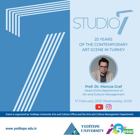 Studio 7 - 25 Years of the Contemporary Art Scene in Turkey