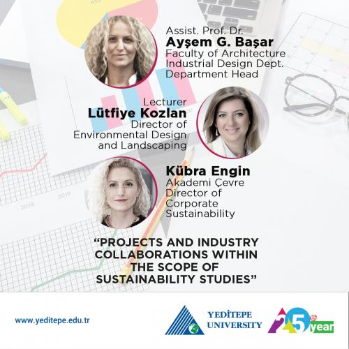 Projects and Industrial Collaborations at Yeditepe University within the Scope of Sustainability Efforts