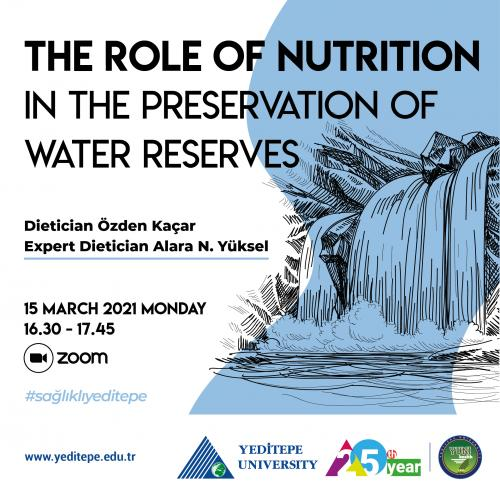 The Role of Nutrition in The Preservation of Water Reserves