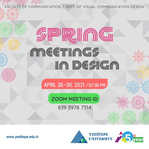 Spring Meetings in Design 2021