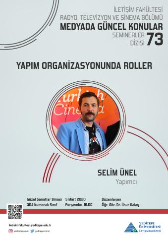 Yapım Organizasyonunda Roller