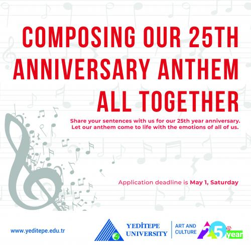 Composing Our 25th Anniversary Anthem All Together