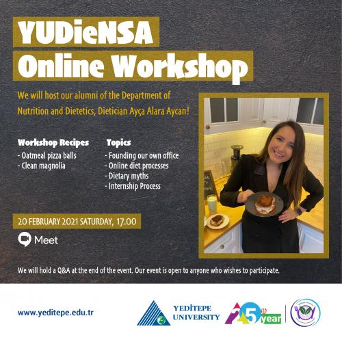 YUDİeNSA Online Workshop